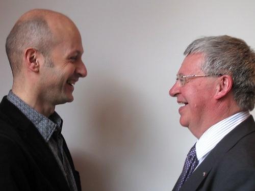 Carlo Leget en Marinus van den Berg