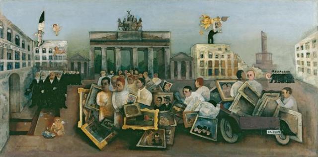 Felix Nussbaum: Der Tolle Platz (1931)