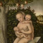Caritas, Lucas Cranach I, ca. 1540, Koninklijk Museum voor Schone Kunsten, Antwerpen
