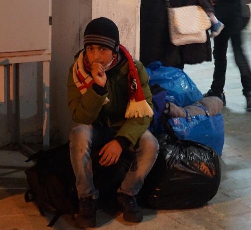 Vluchtelingkamp op Leros