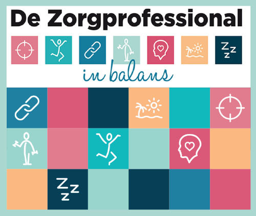zorgprofessional in balans